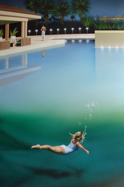 Mike Francis, 'Night Swimming '