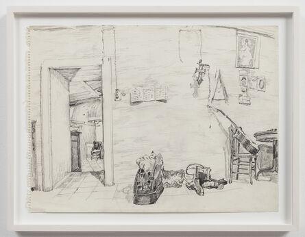 Paul Thek, 'Untitled (studio interior)', ca. 1970