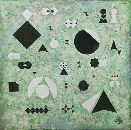 Hildegard Joos, 'Narrative Geometrismen Nr.279', 1987