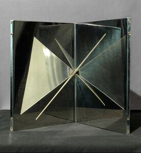 Gabriele De Vecchi, 'Strutturazione triangolare', 1963