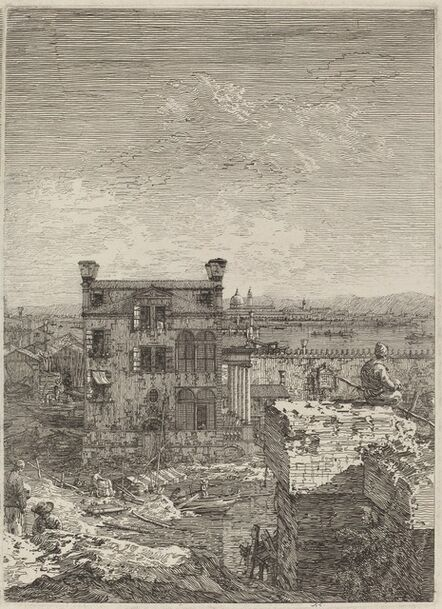 Canaletto, 'The House with the Peristyle', 1741