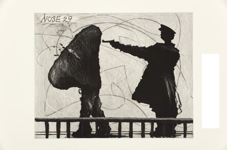 William Kentridge, 'Nose 29', 2009