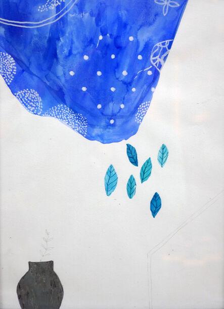 JELENA BANDO, 'Rain on a Flower Pot', 2016