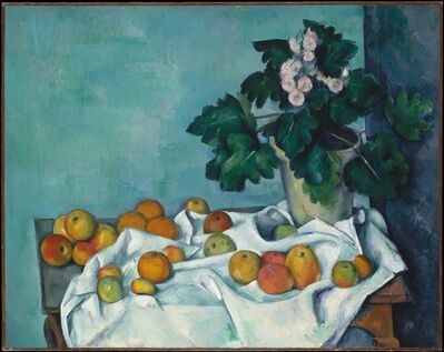 Paul Cézanne, 'Still Life with Apples and a Pot of Primroses', ca. 1890
