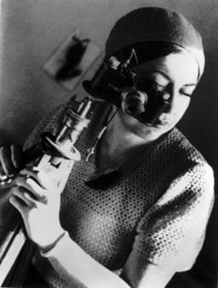 Alexander Rodchenko, 'Evgenia Lemberg with Photo Camera', 1934