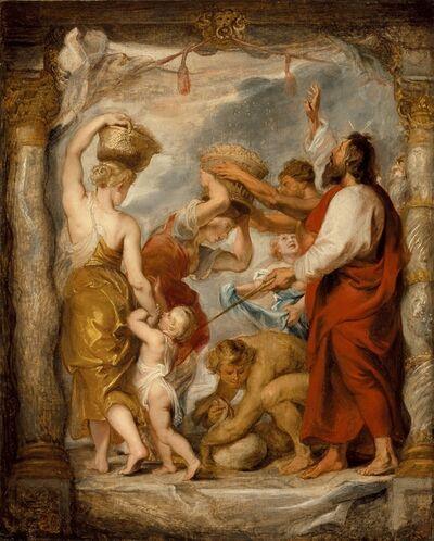 Peter Paul Rubens, 'The Israelites Gathering Manna in the Desert', ca. 1626-1627