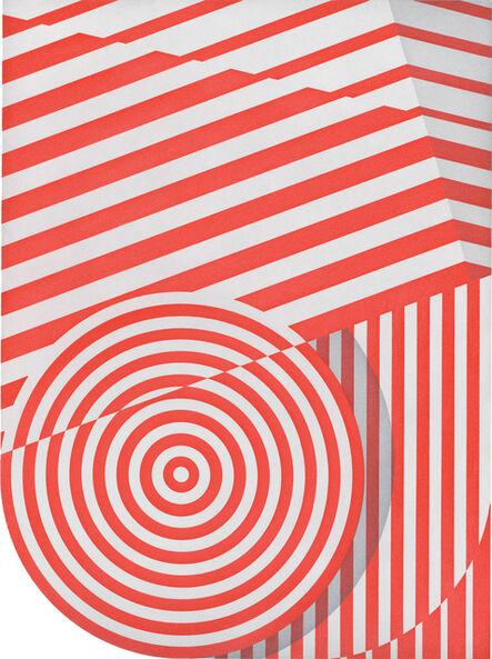 Tomma Abts, 'Untitled (big circle)', 2015