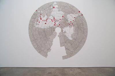 Miguel Angel Ríos, 'Pleats and Borders #2', 1994-1995