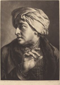 Thomas Frye, 'A Man with a Turban and Striped Shirt', 1760