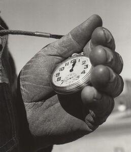 Richard Steinheimer, 'T&S Ry Track Foreman's Watch, Escalon, CA', March 1962