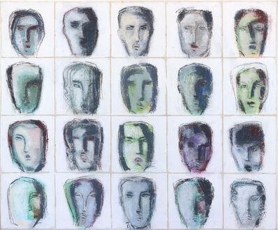 Bernhard Zimmer, 'Faces 43', 2014