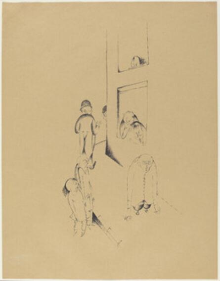 Heinrich Hoerle, 'Der Immerwährendeschmerz (Perpetual Pain)', 1920