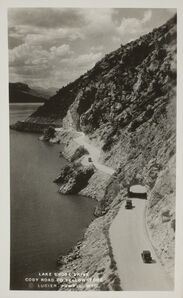 Albert G. Lucier, 'Lake Shore Drive, Cody Road to Yellowstone', ca. 1940