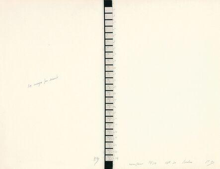 Marcel Broodthaers, '24 Images par seconde', 1970