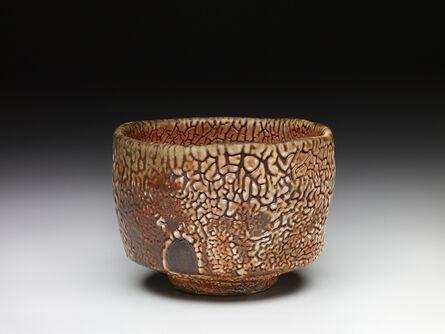 Randy Johnston, 'Tea bowl, shino glaze over iron slip'