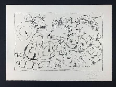 Joan Miró, ' Ubu Roi (King Ubu ) from 'Suites por Ubu Roi'', 1966