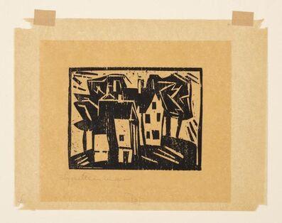 Lyonel Feininger, 'Häuser'