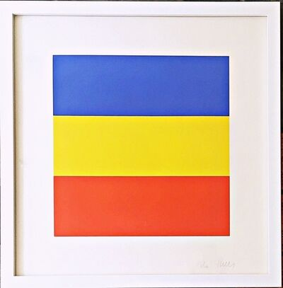 Ellsworth Kelly, 'Untitled, Blue/Yellow/Red (91, Axsom)', 1970-1973