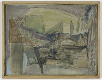 Carmen Herrera, 'Lignes guidés', 1951