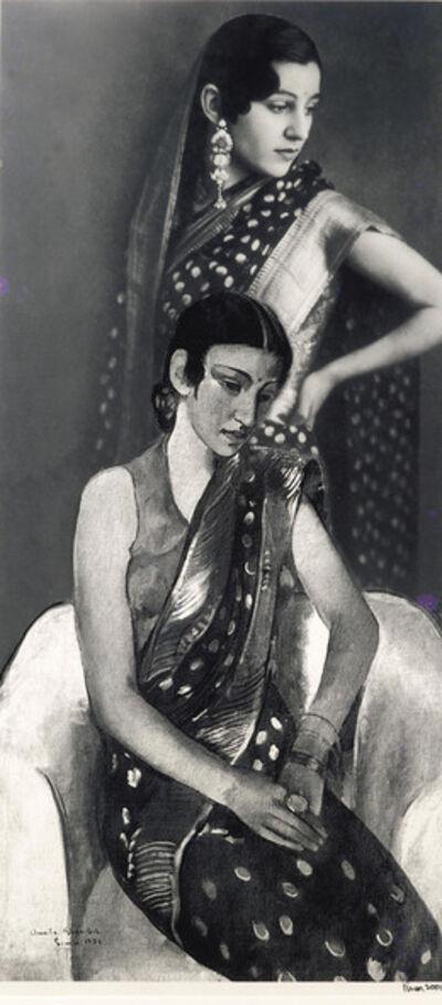 Vivan Sundaram, 'Re-take of Amrita', 2001