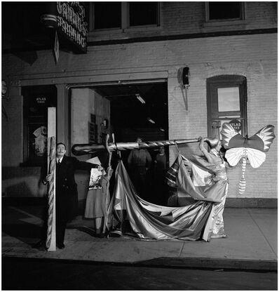 Philippe Halsman, 'Dali backstage at CBS Morning Show, NYC', 1956