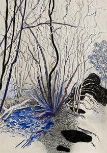 Per Adolfsen, 'Young Tree in Winter', 2020