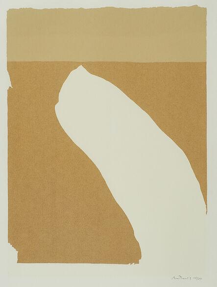 Robert Motherwell, 'Untitled from Flight', 1970