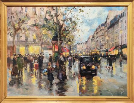 Valery Gromov, 'PARIS (HAND EMBELLISHED)', ca. 2000