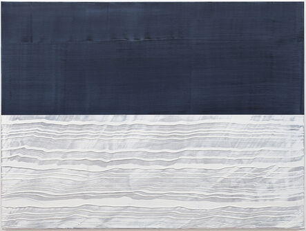 Ricardo Mazal, 'Payne's Grey and White 2', 2017