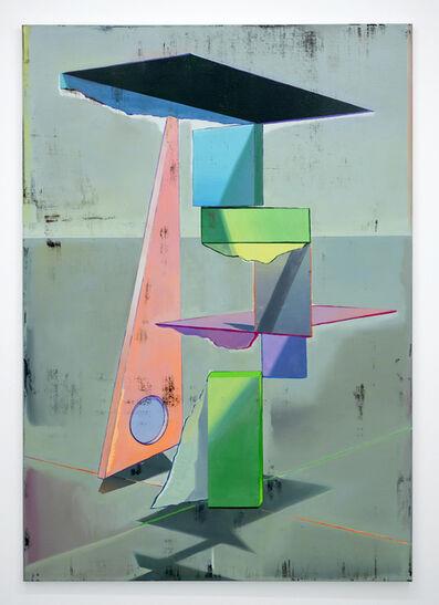 Genti Korini, 'Simulation on the axes 5', 2020