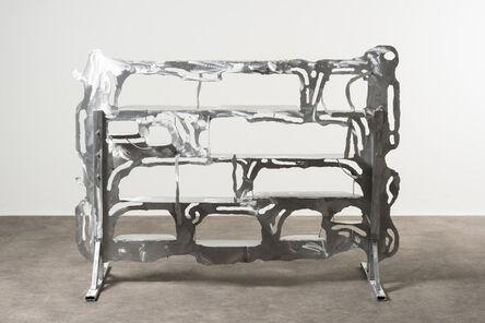 Thomas Ballouhey, 'Aluminium Standing Shelf', 2020
