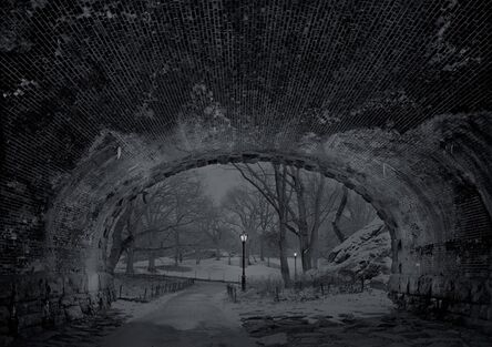 Michael Massaia, 'Central Park, Eaglevale Arch Looking North', 2017
