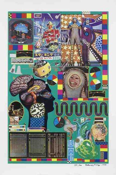 Eduardo Paolozzi, 'Hollywood Wax Museu', 1970