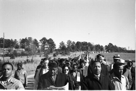 Steve Schapiro, 'Start of the Selma March', 1965