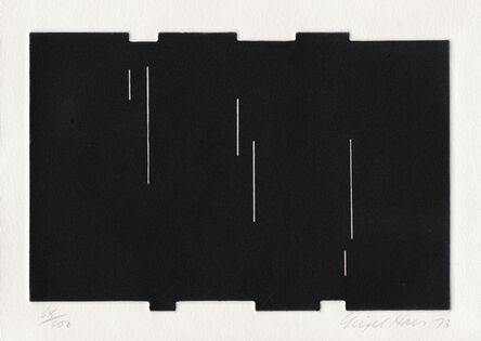 Nigel Hall, 'Untitled (From Eighteen Small Prints)', 1973