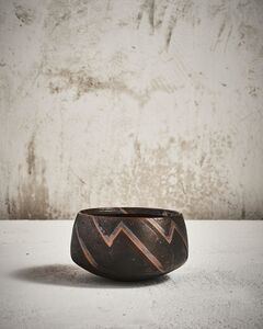 Ursula Scheid, 'Abstract Decorated Bowl'