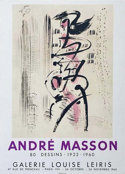 André Masson, 'Untitled', Mid-20th Century