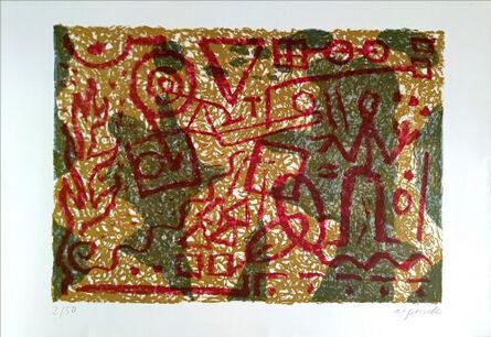 A.R. Penck, 'Stones and Shadows', 1983