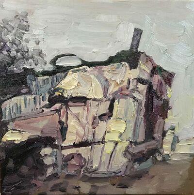 Hung Liu 刘虹, 'Duster Shack 1', 2019