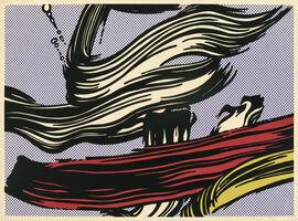 Roy Lichtenstein, 'Brushstrokes (Corlett 45)', 1967