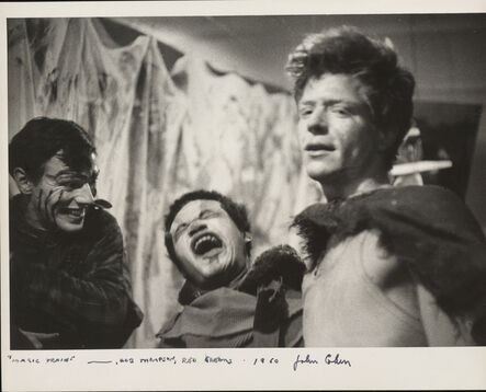 John Cohen, 'Magic Train, Bob Thomson, and Red Grooms', 1960