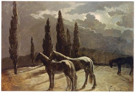 Giovanni Marchini, 'The nocturne', 1930