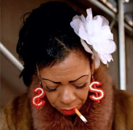 Ruben Natal-San Miguel, 'Lady Money Sings The Blues, Harlem, NYC', 2011