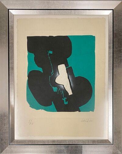 Ladislas Kijno, 'Composition verte', ca. 1980
