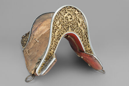 Tibetan, 'An Eastern Tibetan or Chinese Saddle, or Gser Sga', 1450-1600