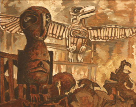Nell Bradshaw, 'Two Totems', N.D