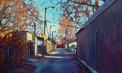 Brian Harvey, 'Autumn Laneway, South Riverdale', 2017