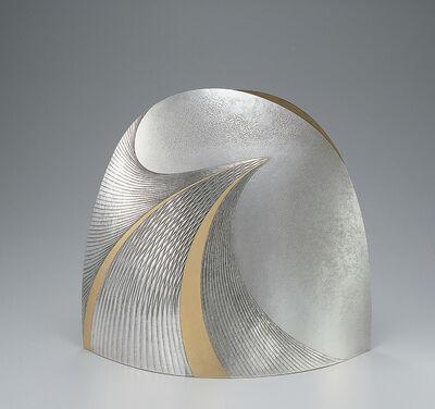 Otsuki Masako, 'Silver Vase Kō (Sparkling Water)', 2007