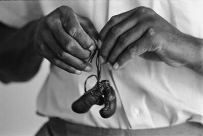 Steve Schapiro, 'Muhammad Ali, with mini gloves, Louisivill, KY', 1963