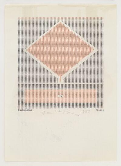 Henri Chopin, 'Buckingham Palace', 1980